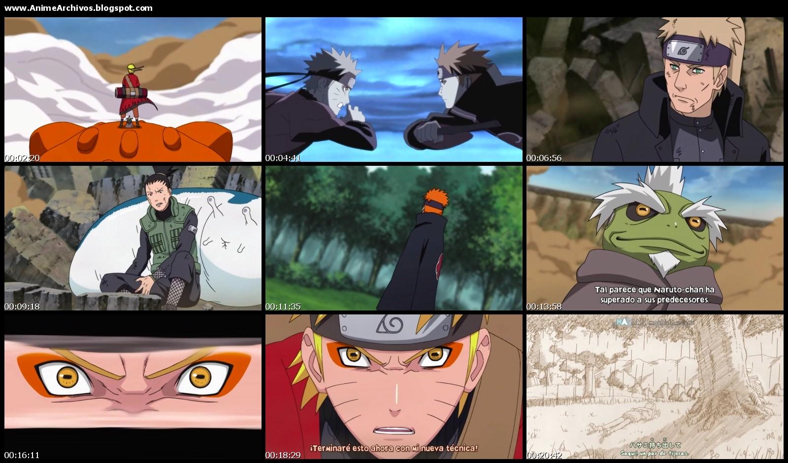 Capitulos De Naruto Shippuden Sub Espanol