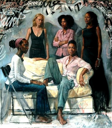 Afro art by Tim Okamura