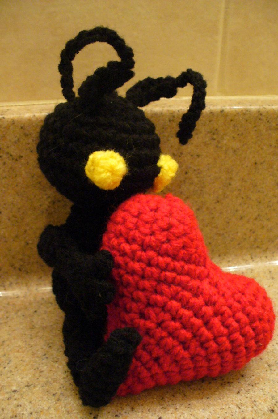 Kingdom Hearts Free Crochet Patterns : OCDrobot: Heartless Crochet Pattern