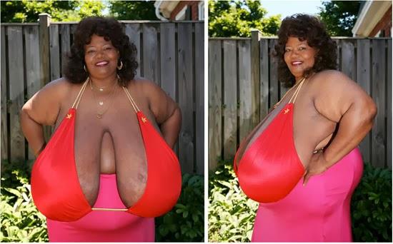 women with the largest breast № 332325