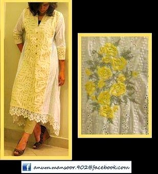 Anum-Mansoor Eid Dress Collection 2014