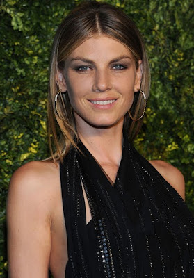 Angela Lindvall Gold Hoop Earrings