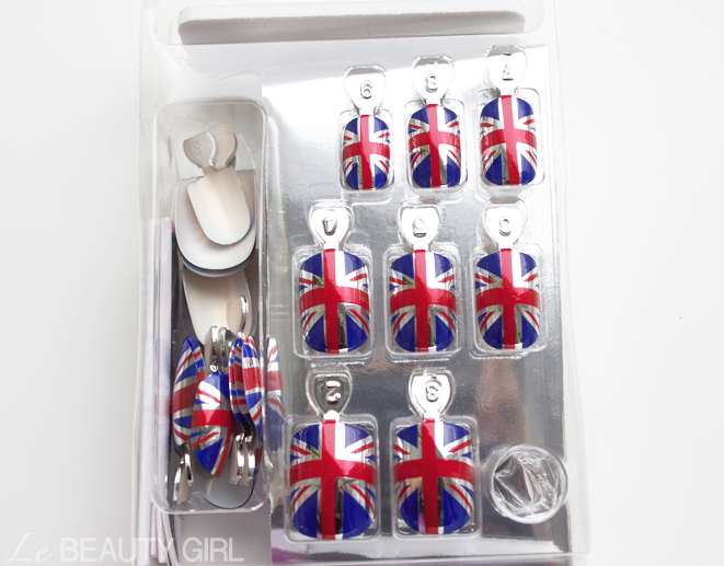 The Queen's Diamond Jubilee Union Jack Nails