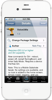 VoiceUtils Cydia Tweak