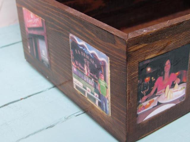 fotos de tu viaje de novios en madera