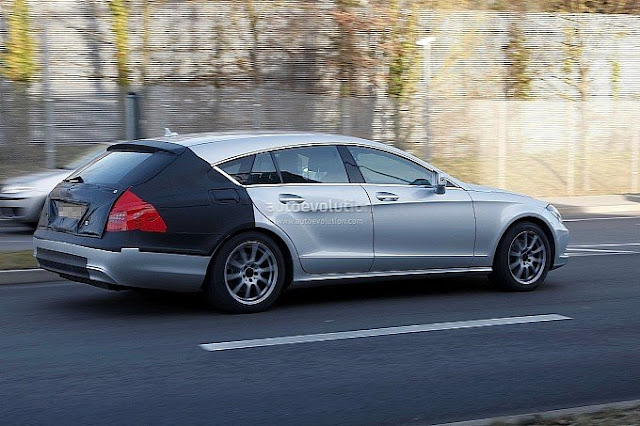Spy Photos of New Mercedes Benz CLS 2013 2014