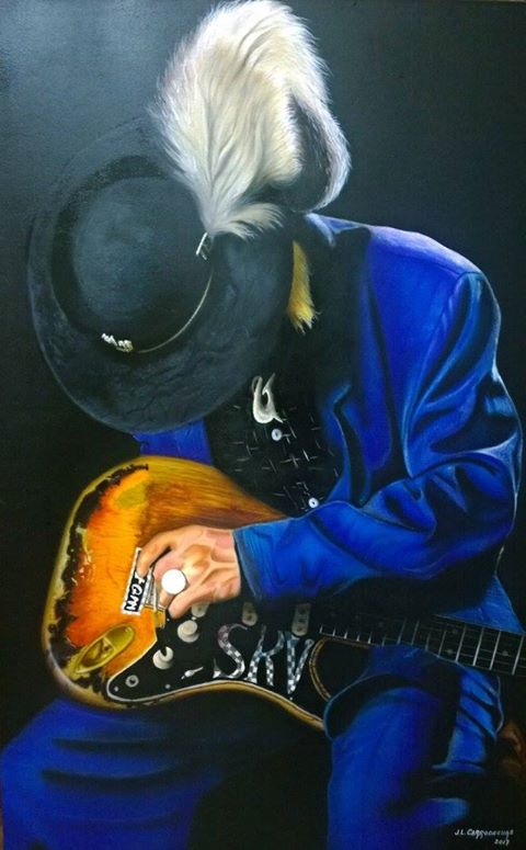 """STEVIE RAY VAUGHAN"""