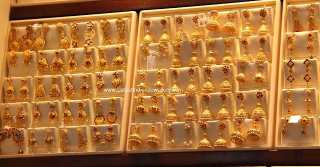 latest gold earrings