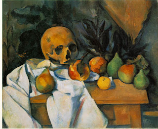 Paul Cezanne, Nature Morte au Crane, 1895-1900