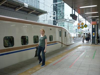 Ŝinkanseno ĉe la stacidomo Tokio