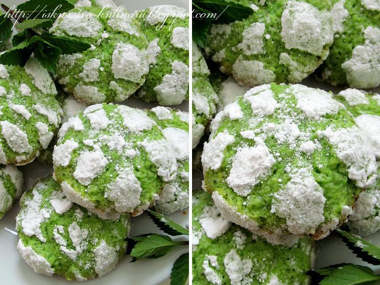 мятное печенье рецепт