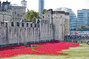 WWI POPPIES INSTALLED AT TOWER