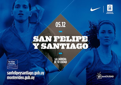 10k Corrida San Felipe y Santiago (21ª ed; Montevideo, 05/dic/2015)