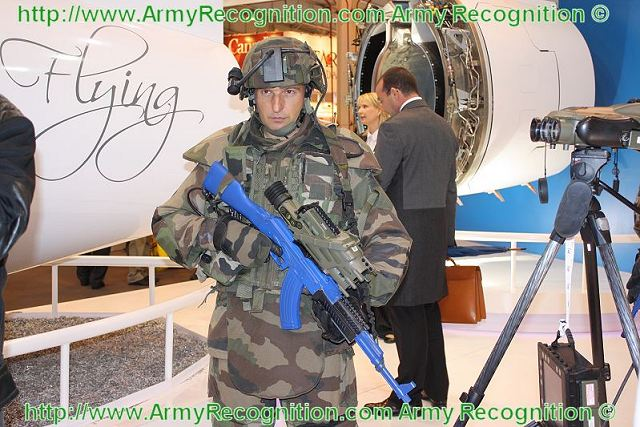 Felin future soldier equipment was presented at moscow air show maks