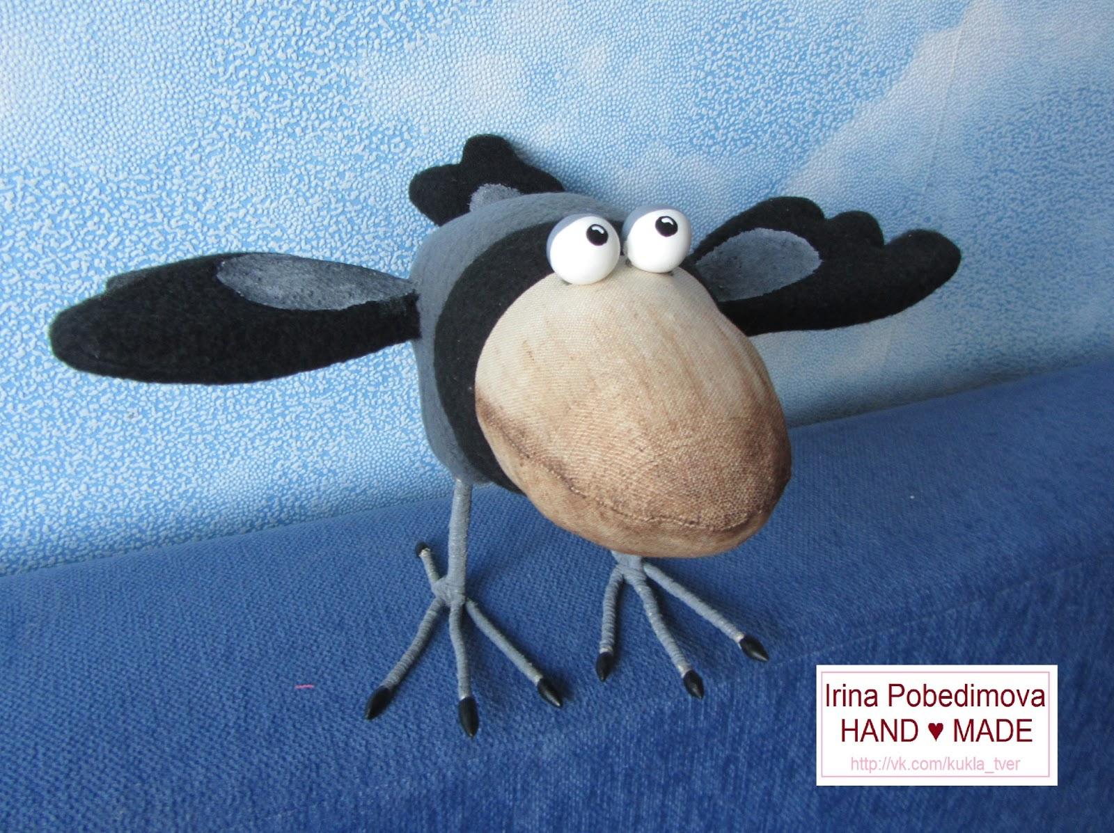 Ворона сшить своими руками