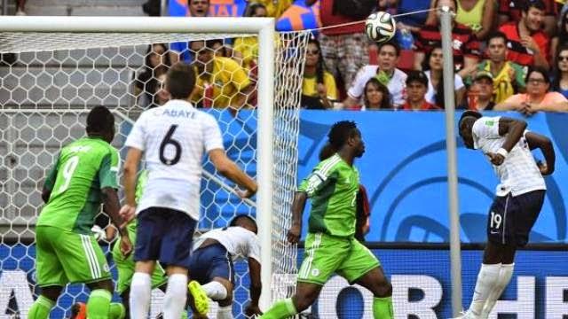 فرنسا تفوز على نيجيريا و تتأهل لدور الثمانية من كاس العالم