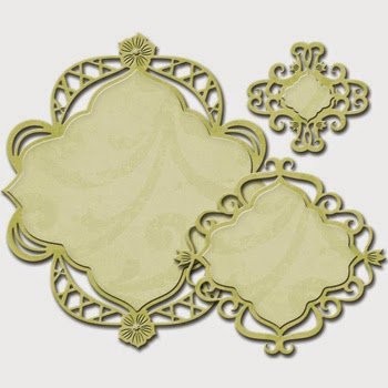 Spellbinders Nestabilities Decorative Elements Fancy Diamond SBS4-527