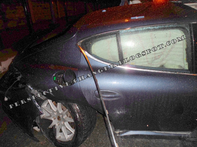 Wizkid Involved In an Accident With His Newly Aquired Porshe (Photo)