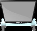 silver HDMI cable