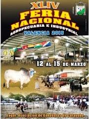 XLIV FERIA NACIONAL AGROPECUARIA E INDUSTRIAL, VALENCIA 2015.
