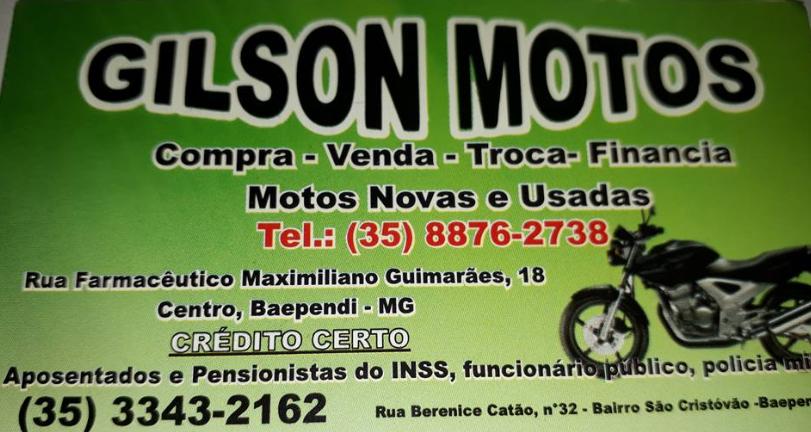 COMPRE SUA MOTA NO GILSON MOTOS