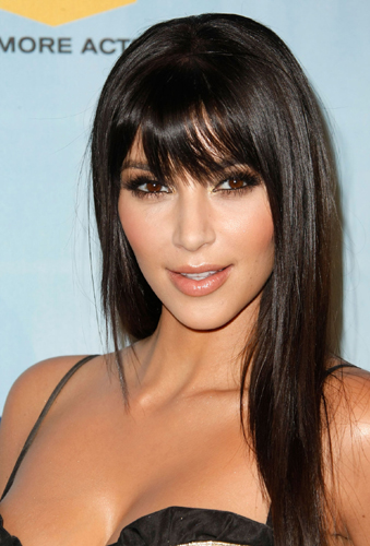Girls Side Fringe Hairstyle Ideas   Side Fringe Hairstyle Picture
