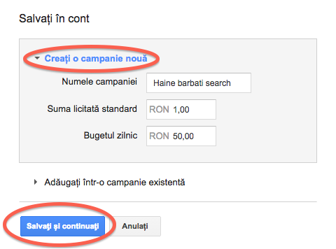 10-creezi campanie adwords