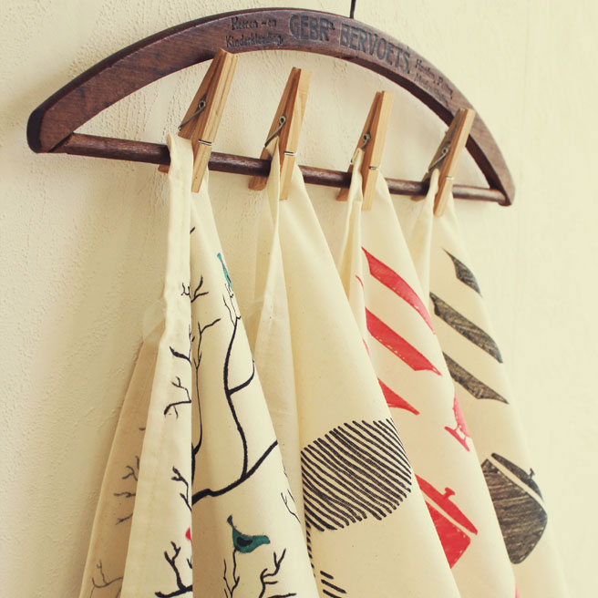 Tea Towel DIY