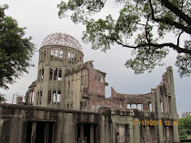 The Atomic Dome Memorial during daylight, Hiroshima, Japan