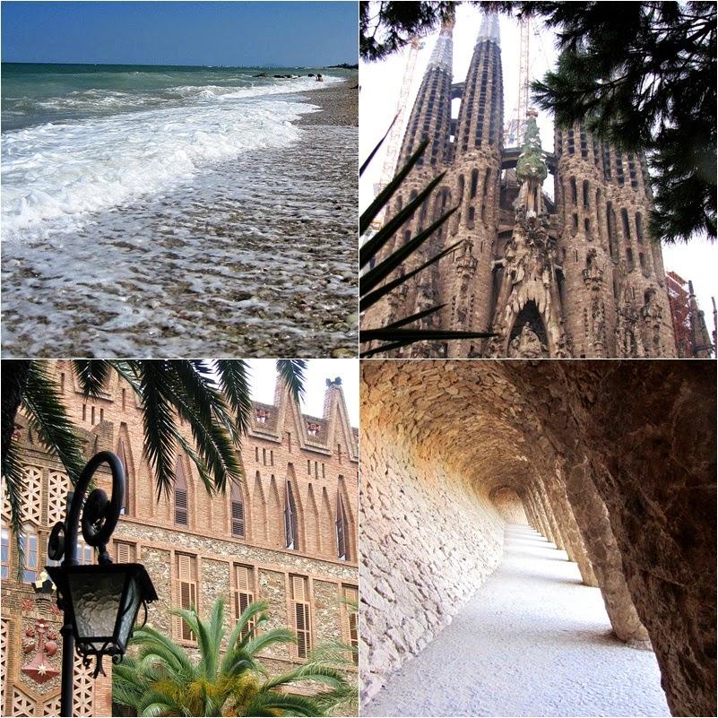 Barcelona | Włochy | włoska plaża | park Guell | Hiszpania | Gaudi
