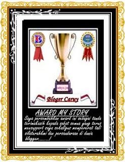 Award My Story Dari Sobat BC
