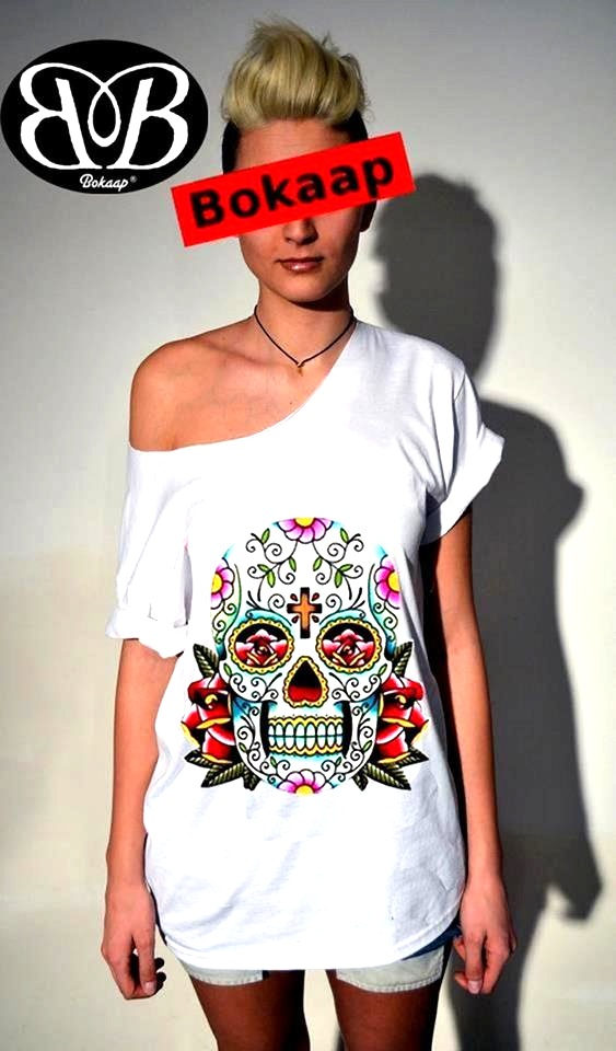 bokaap tee collection, niccolò bottoni, underground inspiration tee, tatoo street style, skull graphics, fashion illustration, made in italy tee
