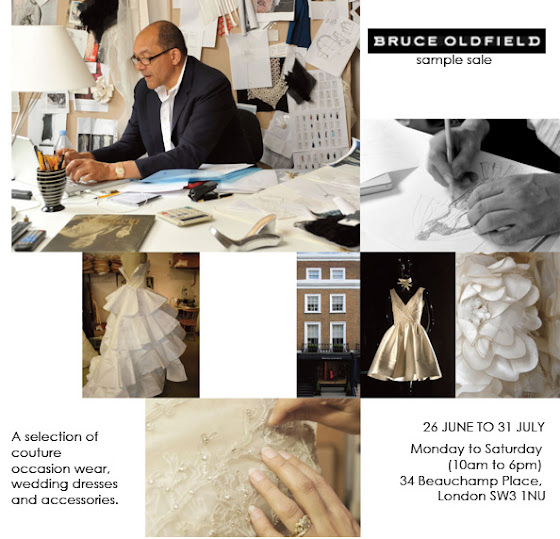 Bruce Oldfield sample sale