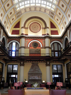 Inside the Union Station Hotel in Nashville, TN