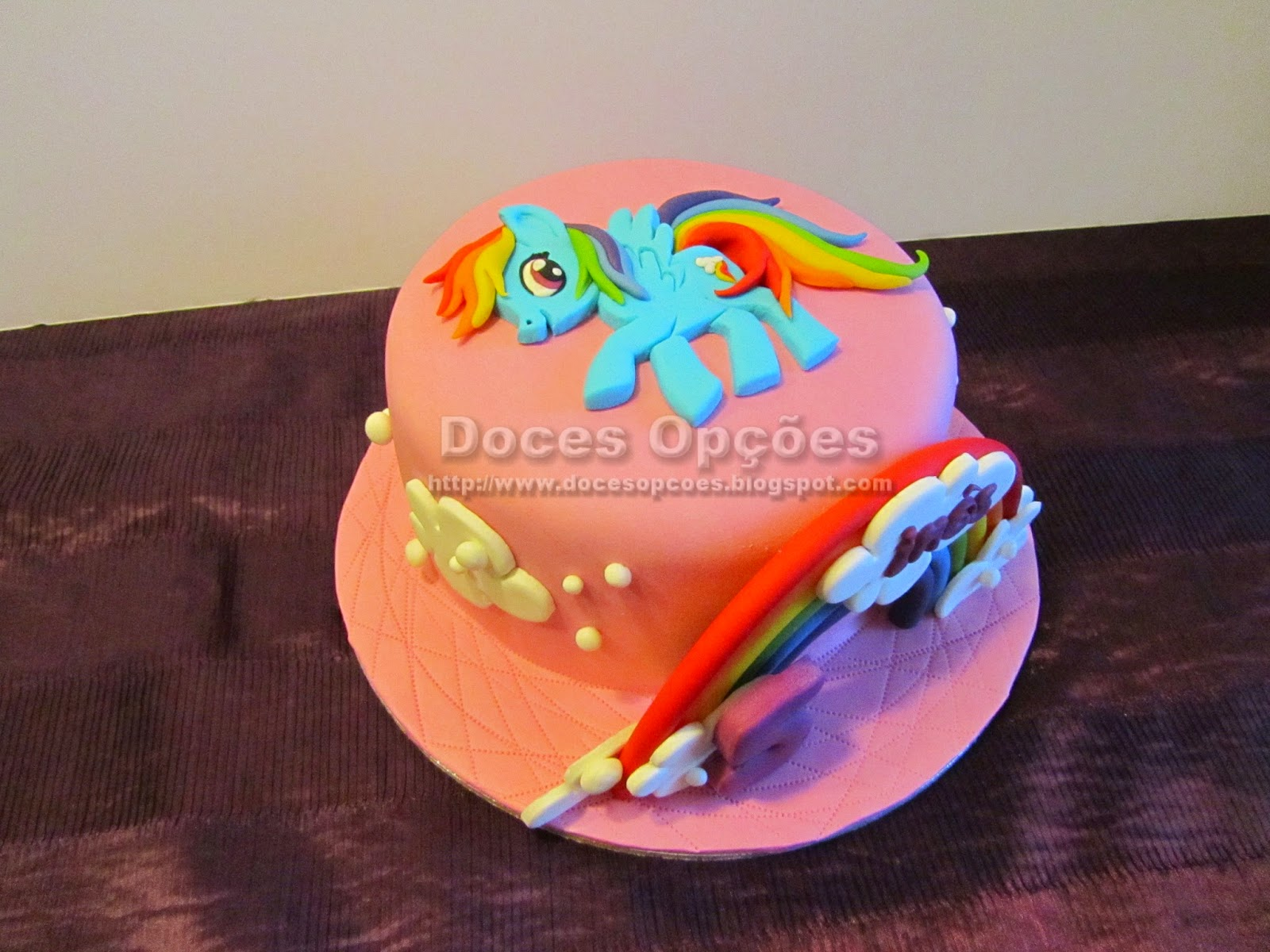 bolo aniversário My Little Pony