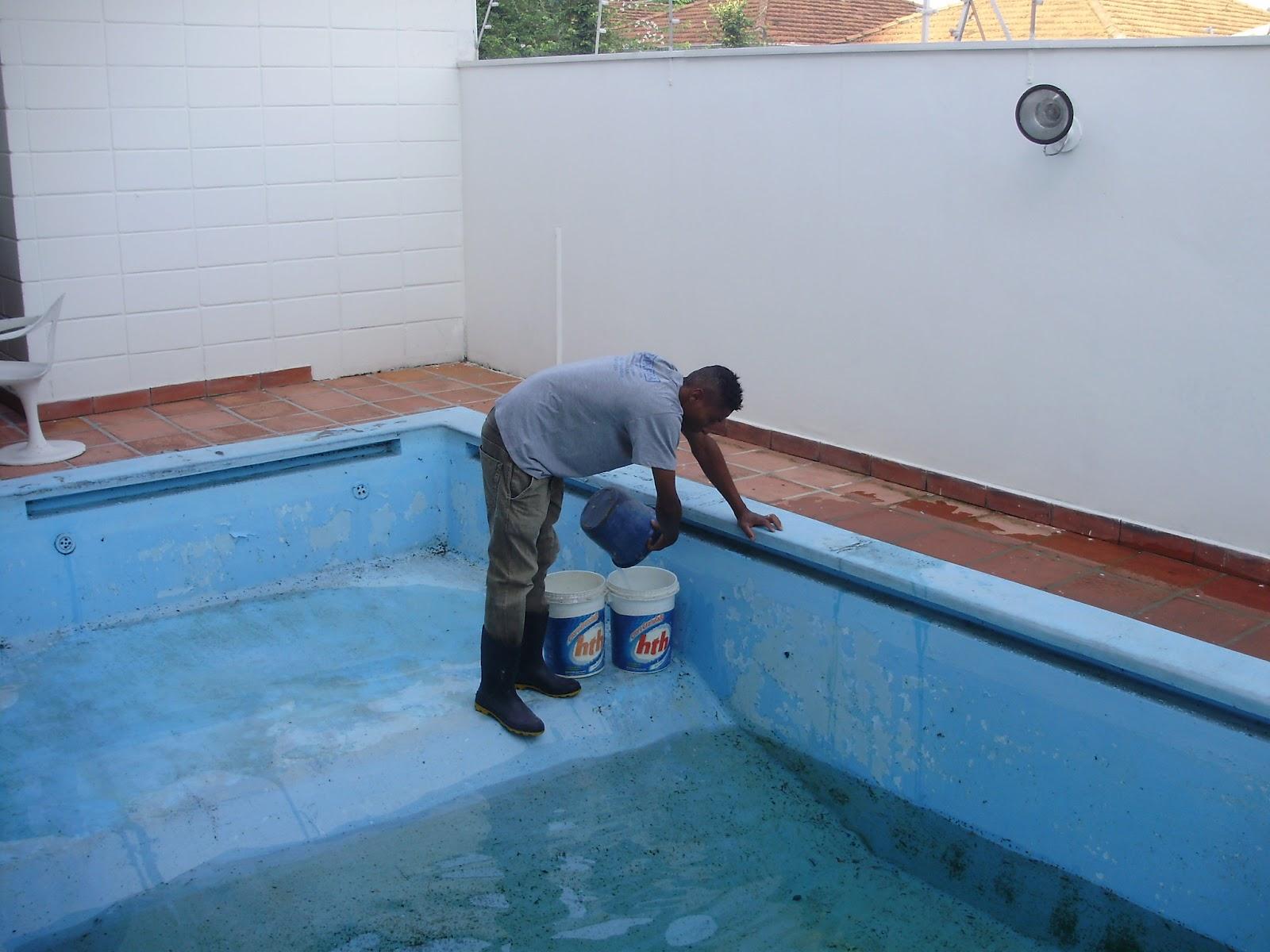 Cooper fibra com rcio de fibra ltda pintura de piscina de - Pintura de piscina ...