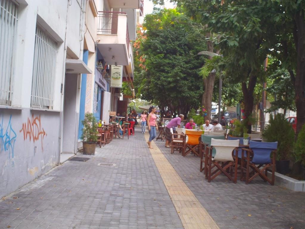 Αναπλάσεις - Λέξη εφιάλτης για την πόλη, χαρά για τις καφετέριες