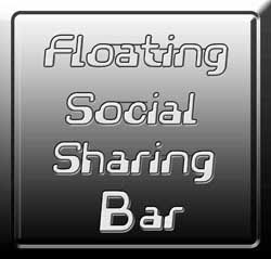 Latest Floating Social Sharing Bar Widget For Blogger