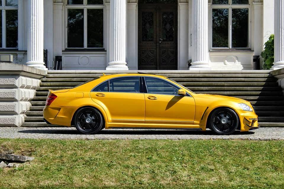 w221 yellow