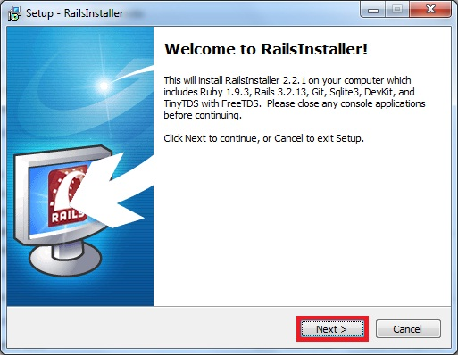 ruby sur rails windows xp télécharger