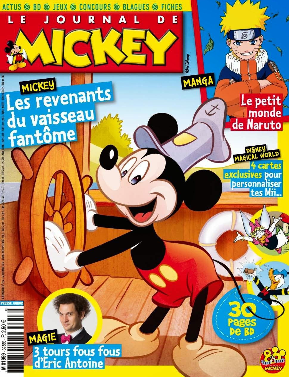 le journal de mickey journal de mickey 3258. Black Bedroom Furniture Sets. Home Design Ideas