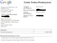 Nikmatnya Gaji Pertama Dari Google Adsense