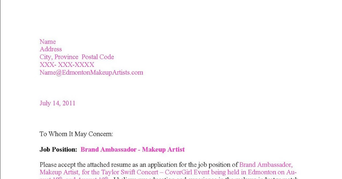 edmonton makeup artists makeup artist resume