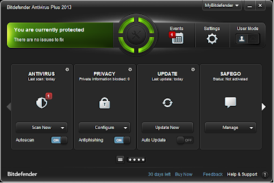 Bitdefender Total Security 2014 With 6 Month's License