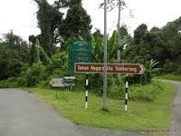 Brunei Batang Duri Signboard
