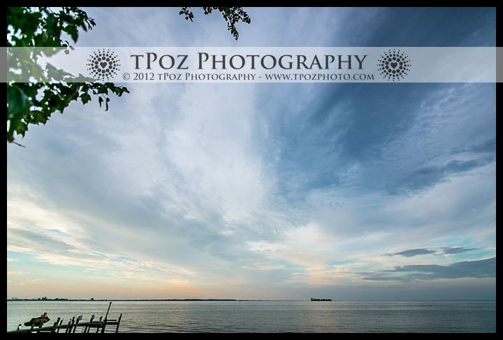 Sunset View from Kurtz's Beach