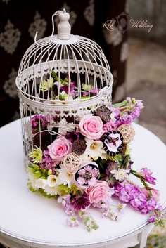 la semana pasada os mostraba algunas ideas para decorar vuestra boda con jaulas podis recordarlo pinchando aqu hoy os traigo un montn de ideas ms para