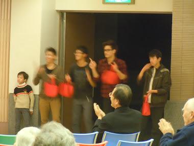 龜山青年團契表演