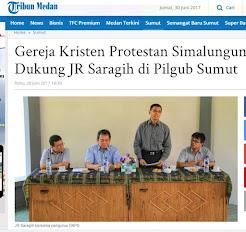 Terseret Politik Praktis, Ephorus GKPS Dipetisi (Diminta Mundur)
