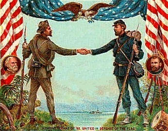 """union and confederacy To an outside observer the united states may have looked like it """"had become  three countries: the union, the confederacy and kentucky."""